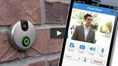 iDoorCam WiFi Enabled Doorbell is part of Skybell Wifi Doorbell Answer Door From Smartphone - It's a time of smart devices You may be more willing to answer your door using your smartphone instead of the receiver on the wall Nice idea Let's go on chec Gadgets And Gizmos, Electronics Gadgets, Cool Gadgets, Iphone Gadgets, Electronics Storage, Cool Technology, Technology Gadgets, Smartphone, Arduino