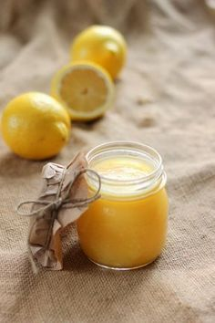 Lemon Curd, Preserves, Yummy Treats, Candle Jars, Ham, Deserts, Food And Drink, Tasty, Baking