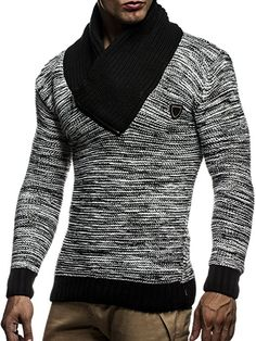 LEIF NELSON Men's Cardigan - - Small
