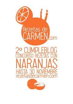 Recetario 2º cumpleblog: recetas con naranjas by Carmen Rezetasdecarmen - issuu