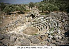 Kıyıkışlacık (iasos) antik kenti  Muğla-Ancient Theatre