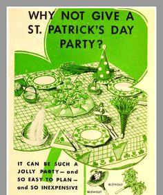 Vintage St Patricks Day Party Ideas