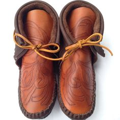 Updates from JamieGentryDesigns on Etsy Leather Moccasins, Hand Stamped, Clogs, Take That, Stylish, Etsy, Fashion, Moda, Fasion