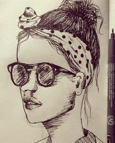 #draw #illustration #sketch #sketchbook #pen #nankin #boy #men #ivanlitenskiartista #style #hairstyle #hair #stylegirl