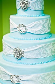 baby blue cakes - Google Search