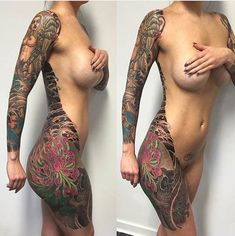 If we've said it once we've said it a million times—nothing enhances a woman's beauty quite like a perfectly placed tattoo. Or body suit, for that matter. Yallzee has curated this list featuring so...