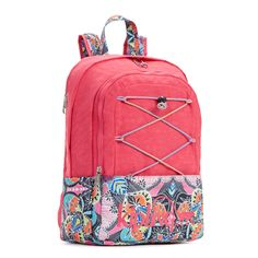 Monaghan Bungee Laptop Backpack - Vibrant Pink  0744cee706
