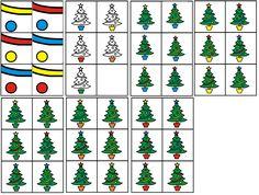 matrix kerst: pot van de boom combineren met kleur kerstballen en slingers