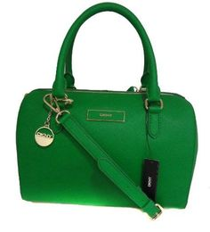 Oh finally got me one! YAS...DKNY Saffiano Leather N/S Satchel Shoulderbag-Green