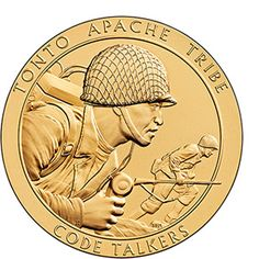 Medals Beautiful Pueblo Of Acoma Code Talkers Bronze Medal From Us Mint Street Price