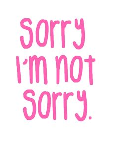 It's Sari, not sorry!