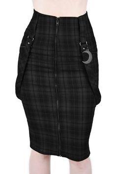 Women's Bottoms | Jeans, Leggings, Skirts & Shorts | Killstar Pencil Dress Outfit, Pencil Skirt Casual, Pencil Skirt Outfits, Denim Pencil Skirt, High Waisted Pencil Skirt, Pencil Skirts, Denim Skirt, Pencil Dresses, Glam Rock