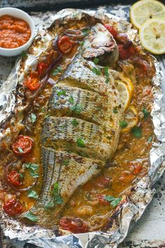 I have 9 of the best clean eating healthy baked fish recipes that are quick and easy to make. I think you'll love the variety and ease of these recipes. Healthy Baked Fish Recipes, Whole Fish Recipes, Best Fish Recipes, Tilapia Fish Recipes, Salmon Recipes, Healthy Baking, Grilled Fish Recipes, Fish Dishes, Seafood Dishes