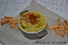 avocado hummus - Hummus con aguacate