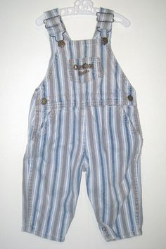 Oh yes, these happened.  Osh Kosh B'gosh every day, baby!  Loved me some 90s overalls.