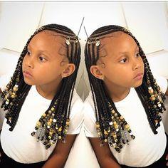 Box Braids Hairstyles, Black Girl Braided Hairstyles, Black Kids Hairstyles, Girls Natural Hairstyles, Baby Girl Hairstyles, My Hairstyle, Natural Hair Styles, Children Braided Hairstyles, Toddler Hairstyles