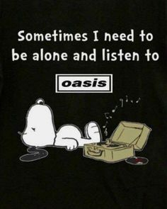 #oasis #snoopy #music