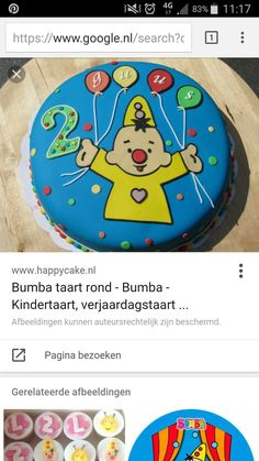 Bumba taart Kid Birthdays, Cakes, Party, Desserts, Kids, Recipes, Toddlers, Deserts, Boys