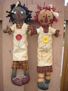 pretty primitive doll making