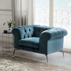 Concrete Furniture, Furniture Design, Velvet Armchair, Luxurious Bedrooms, Love Seat, Sweet Home, Couch, Dandy, Home Decor