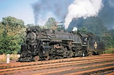 Erie K5a class 4-6-2 Pacific steam locomotive # 2935, seen at Waldwick, New Jersey, 06-12-1952 by alcomike43, via Flickr