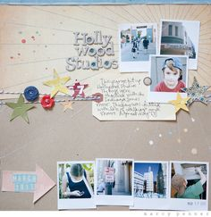 7 small photos layout