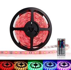 OxyLED® OCD-83 Waterproof RGB LED Strip Light Kit - 16.4ft, 300 LEDs, Color Changing SMD GRB 5050, Dimmable, 44 Key IR Remote, 60W 12V 5A Power Supply Adapter - http://www.the-solar-shop.com/oxyled-ocd-83-waterproof-rgb-led-strip-light-kit-16-4ft-300-leds-color-changing-smd-grb-5050-dimmable-44-key-ir-remote-60w-12v-5a-power-supply-adapter/