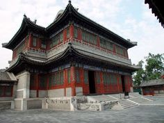 Traditional chinese architecture, Summer Palace, Beijing 500 × 375 - 53KBchinapictures...