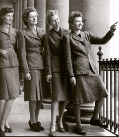 British utility fashions, #1942 #1940s #1940sfashion