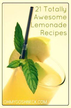 21 Flavored Lemonade Recipes