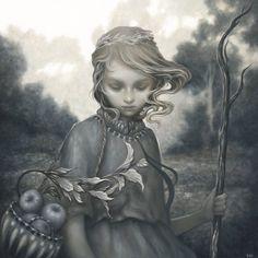 Image of Wayfaren - hand embellished print - Amy Sol Amy Sol, Street Art, Supernatural, Indie, Pop Surrealism, Surrealism Painting, Easy Paintings, Digital Paintings, New Print