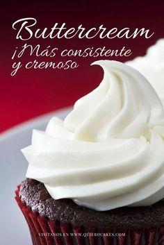Pin on Ponquesitos Buttercream Cupcakes, Cupcake Frosting, Cupcake Cakes, Custard Recipes, Baking Recipes, Dessert Recipes, Desserts, Poke Cakes, Drip Cakes
