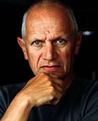 Steven Berkoff - actor..played the Russian baddie in Rambo 2...