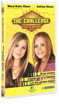 The Challenge a MK&A movie  A really cute movie that's a spoof on reality show competitions like Survivor.