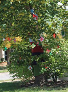 Tree decorating ,Lowell,MIch