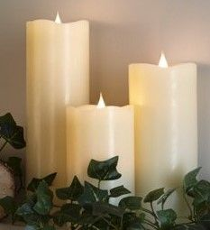SIMPLUX True Flame Candles have a 3 Dimensional flame!   https://www.youtube.com/watch?v=bECBWeSuT6M
