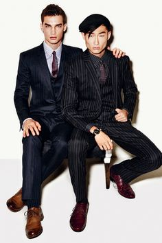 Dolce & Gabbana Fall/Winter 2014 Mens Look Book image Dolce and Gabbana Fall Winter 2014 Men Look Book Model Images 027