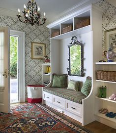 Keep your mud out of this mudroom!