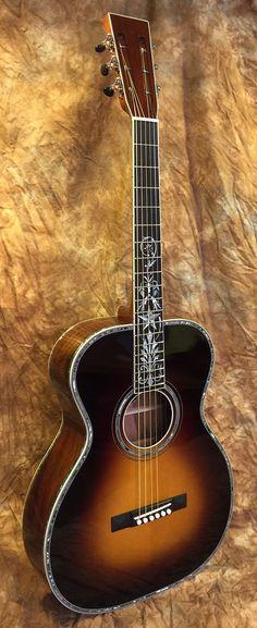 2015 - New Era Guitars - OM Deluxe 12 fret | Reverb