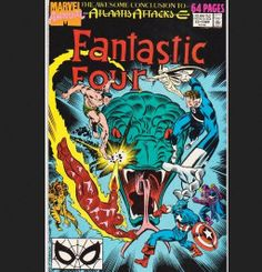 1989 Marvel Comics FANTASTIC FOUR Annual 22 by DesiresAndNeeds, $17.75
