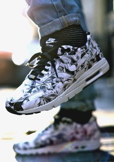 NIKE Air Max 1 Ultra City Collection Floral Stomp #nike #nikeairmax #sneakers #fashion