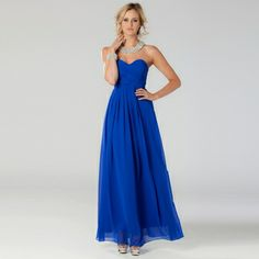 Langhem Mona Lisa... oooh blue is nice. I could do blue. This dress seems to come in dusky pink, charcoal, cobalt blue, mint green and a coral colour( not a fan of the coral). The straplessness is a flaw but i think better than the one shoulder deal that seems to be around.