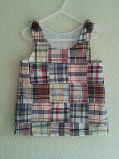 Madra print Aline dress by tutus2trains on Etsy, $25.00