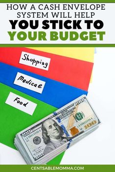 Although you have a written budget, it can sometimes be difficult to not overspend on certain categories. Check out how a cash envelope system will help you stick to your budget and make it successful month after month.