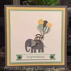 Stampin' Amigos: Welcome Zoo Babies!