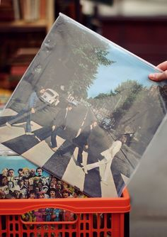 My favorite Beatles album! Abbey Road, Beatles Albums, The Beatles, Music Is Life, My Music, A Hard Days Night, Sgt Pepper, Sounds Good To Me, Famous Photos