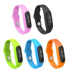 Data Storage: Save seven days of motion data.Android & Apple Applications Compatible.Missed Call & Message Alert.Fitness Goal Setting Health Bracelet.