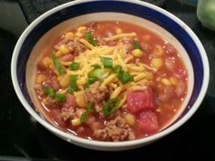 Taco Soup (9 Ingredient Chili) by Becca Rewritten