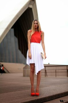 GET INSPIRED: Λευκή Φούστα! Tι να επιλέξετε - Πως να τη Φορέσετε!