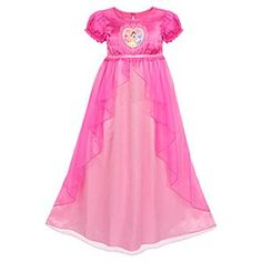 disney princess nightgowns | Flutter Disney Princess Nightgown For Girls